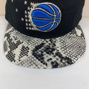 New Era Accessories - Orlando Magic New Era SnapBack Snake Print Hat